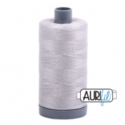 Aurifil 28 Cotton Thread - 2615 (Light Grey)